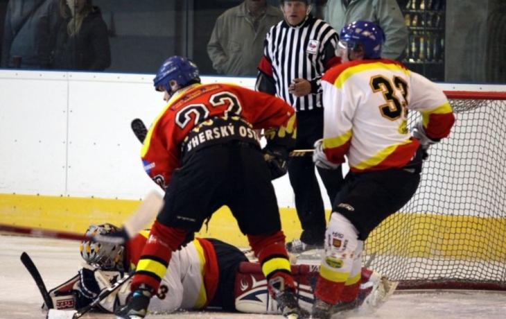 Ostrožští hokejisté na vítězné vlně