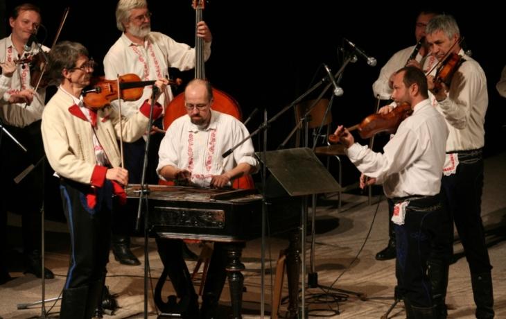 Cimbálová muzika Šabla slaví čtyřicátiny