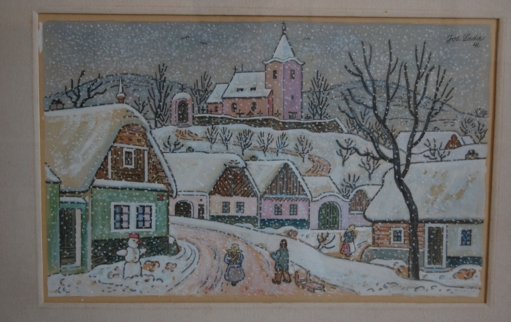 Zima plná poezie s Josefem Ladou