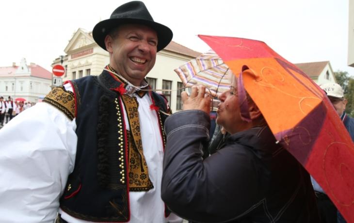 Sedmnácté oslavy vína a památek propršely. Do Hradiště i tak zavítalo 35 tisíc lidí!