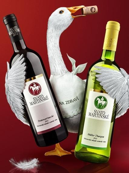 Žehnání svatomartinského vína v Hradišti