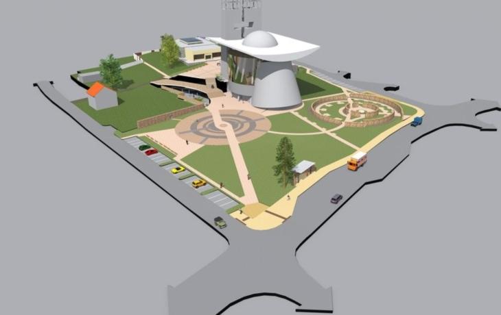 Náměstí Velké Moravy nabídne i zážitkovou stěnu