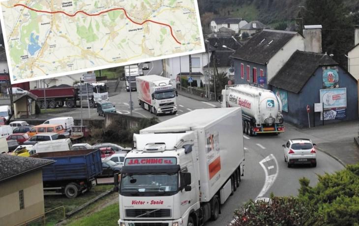 Obce na Slovácku děsí návrat kamionů. Za cestu na Slovensko se má platit!