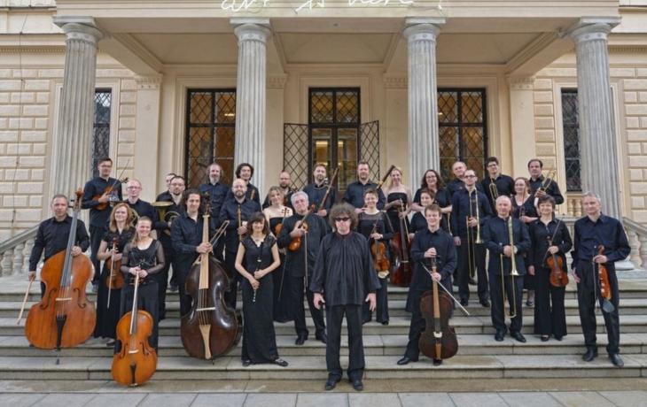 Rybu Originally přednese Czech Ensemble Baroque