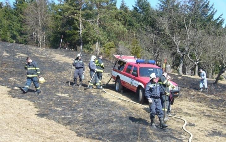Pokuta za pálení trávy: 25 tisíc korun