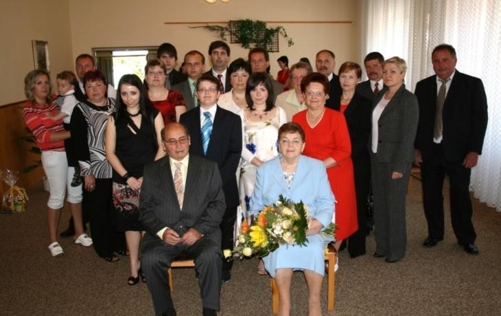 Zlatá svatba v Nové Vsi