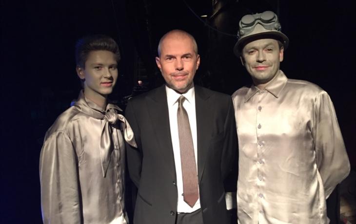 Herci ze Slováckého s Markem Ebenem v Národním divadle