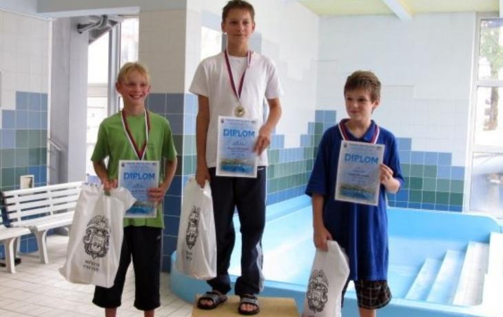 Plavec Marek Hoffmann byl opět bezkonkurenční