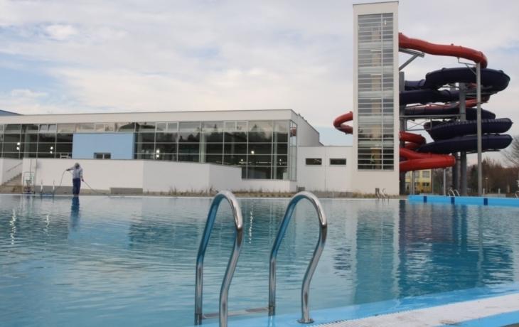 Aquapark je konečně hotový