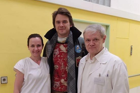 Anna Pospíchalová natáčí film s Vojtou Dykem