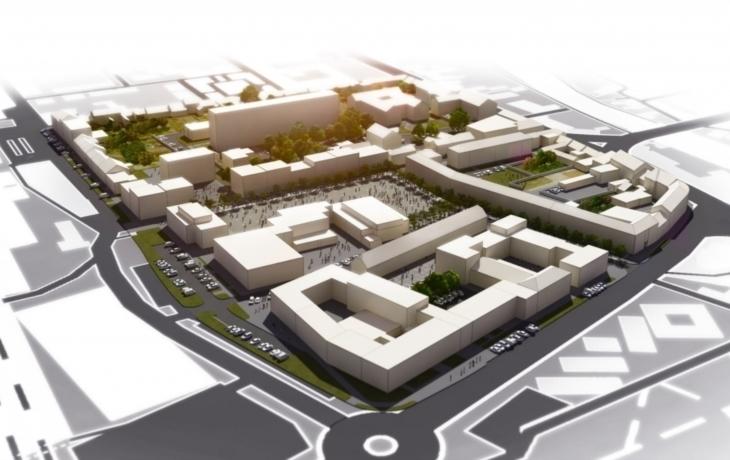 Architekti představili nové centrum Veselí