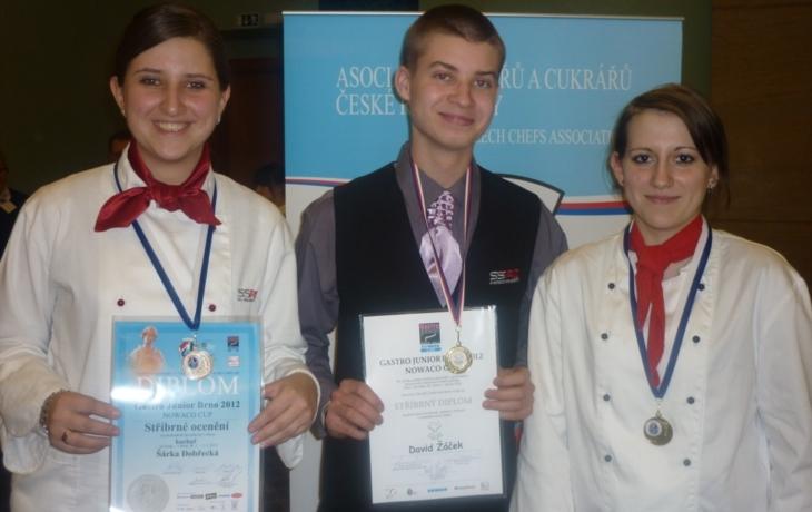 Medaile z gastrošampionátu
