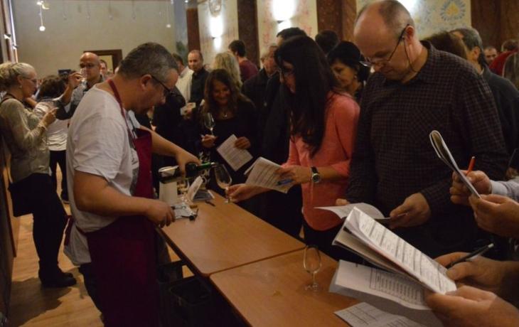 Ochutnávalo se i víno z Izraele