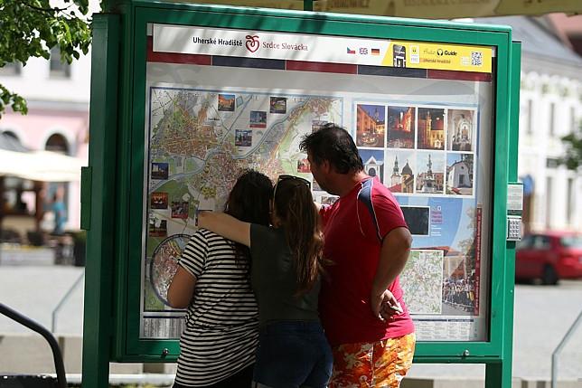 Turisty usměrní nový navigační systém