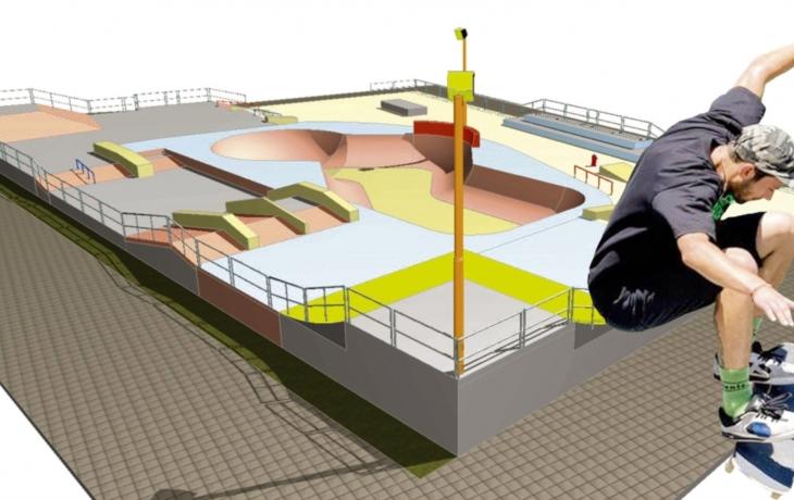 Skatepark postaví bez dotace za 9 milionů, soptí jen opozice?!