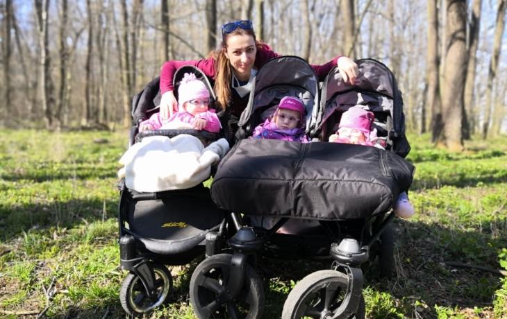 Hrdinka! Maminka z Kunovic bojuje o trojčata