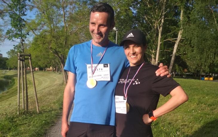 Pavlína Hejcmanová uběhla půlmaraton za Danu Zátopkovou