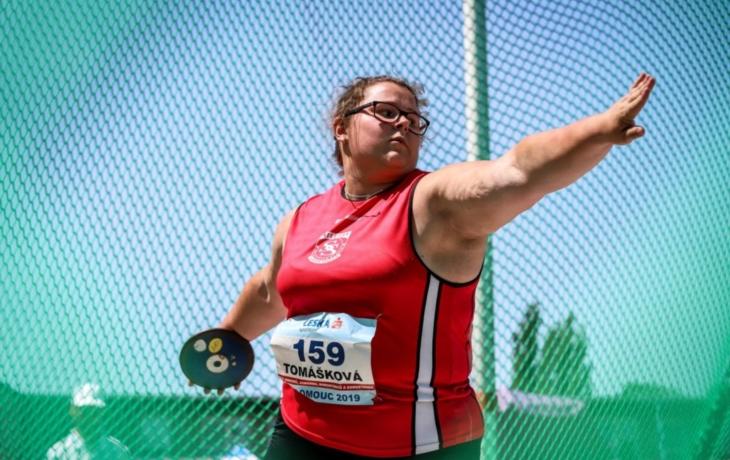 Famózní Blanka Tomášková a čtrnáct osobních rekordů