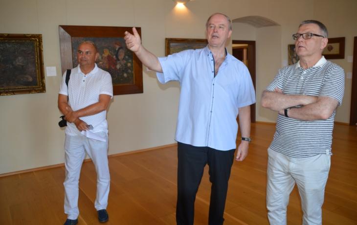 Uprkovu výstavu v Paříži posvětil i ministr
