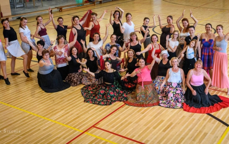 Rómské tance dopomohly ženám najít vlastní já