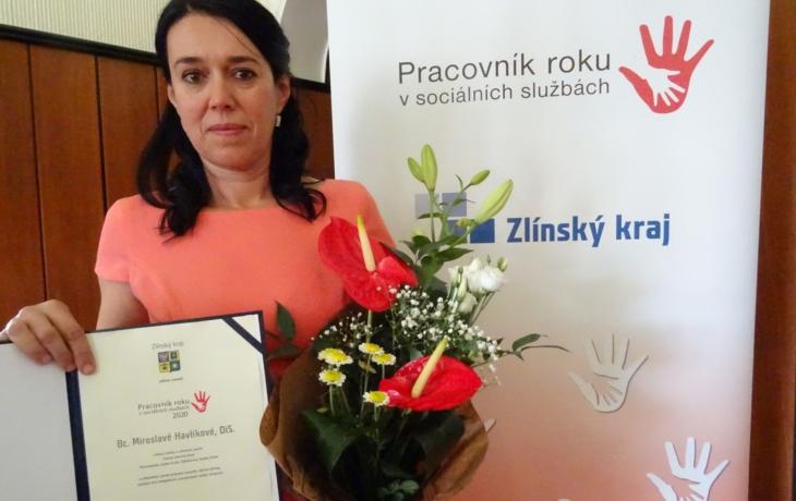Miroslava Havlíková je podle krajské ankety manažerkou roku