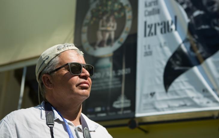 Karel Cudlín se dívá na Izrael přes hledáček