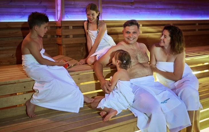 Říjen v plném proudu vodních a saunovacích programů
