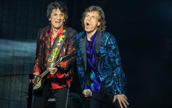 Ron Wood z Rolling Stones je velkou hvězdou