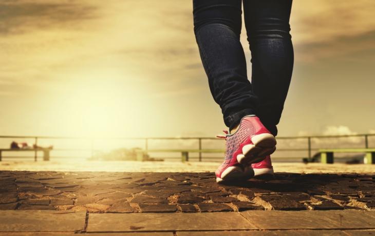 Obyčejná chůze je zdravá a ještě úplně zdarma!