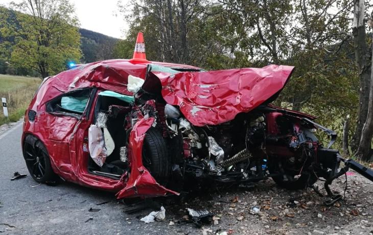 Havárie si vyžádala dva lidské životy