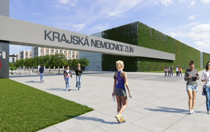 Kraj výstavbu nové nemocnice nezastavil. Čeká se na únor