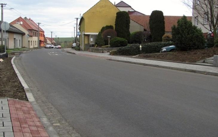 Uzavírka skončila, průjezd obcí je bezpečnější