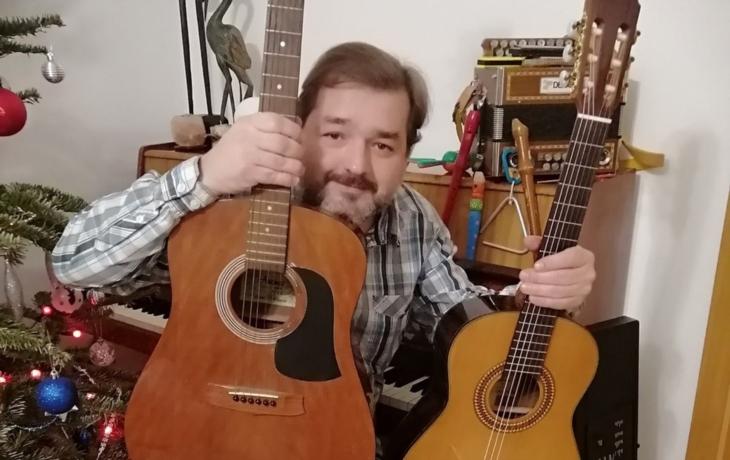 Petr Čagánek stvořil zabijačkovou jednohubku. O čem bude další píseň?