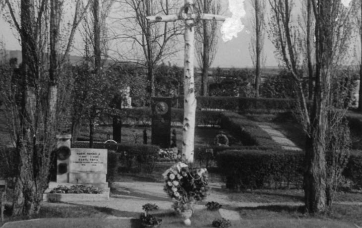 Z historie hřbitova v Mařaticích