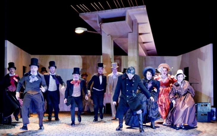 Slovácké divadlo v sobotu odehraje v televizi Fidlovačku