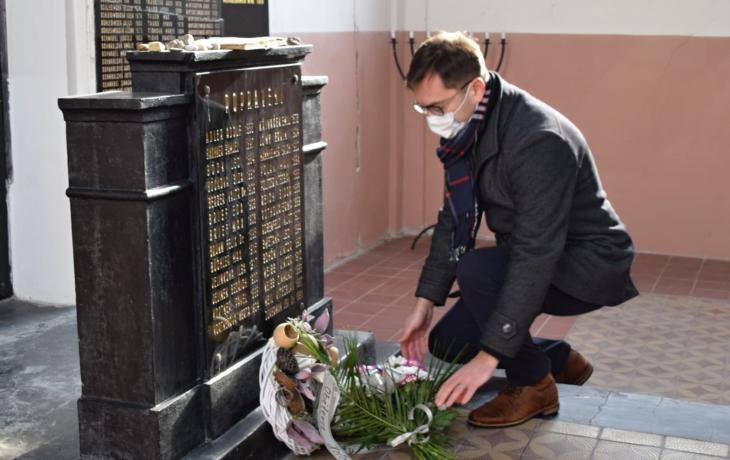 Uctili památku deportovaných Židů