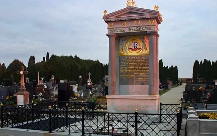 Hroby a hrobky významných osobností - JUDr. Alois Pražák