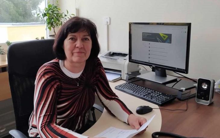 Marie Leitgebová, ředitelka ZŠ a MŠ Větrná