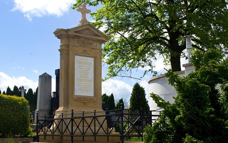 Hroby a hrobky významných osobností - rodina Fanderlíka