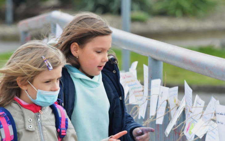 Školáci na Mostě díků vzpomínají na lockdown