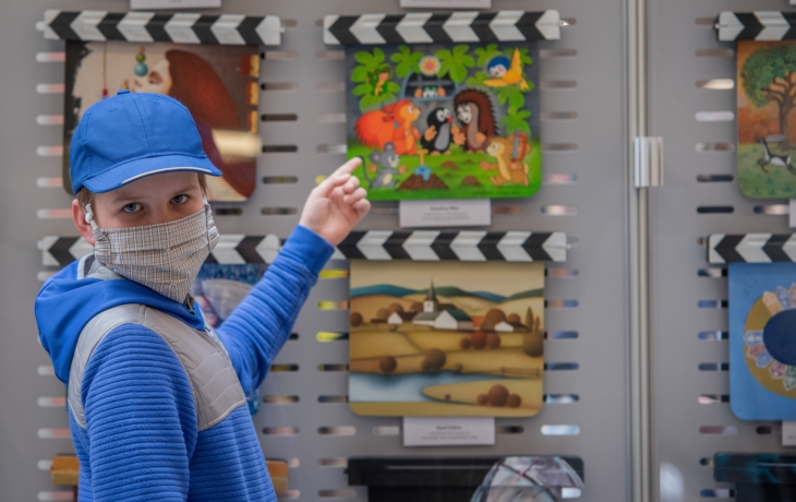 Filmové klapky i dětská tvorba na téma Výlet do fantazie
