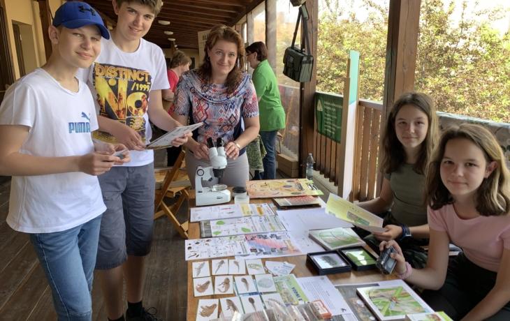 Za školou se zelená přírodní učebna Otakara Borůvky