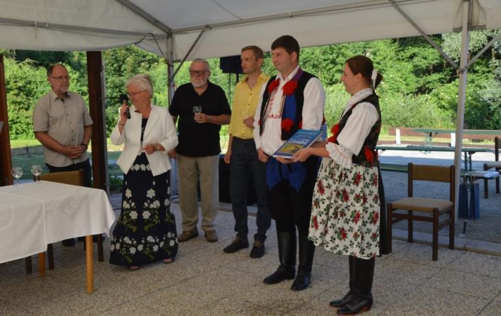 Popovice oslavily osm století od založení obce