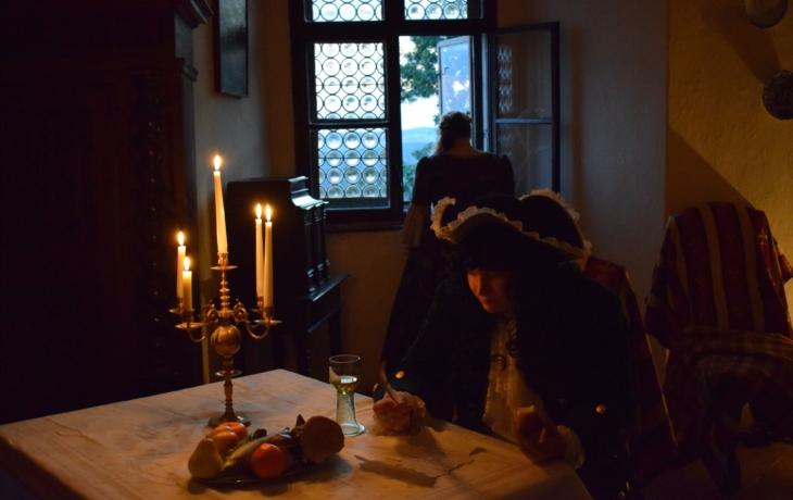 Na Buchlově potkáte v noci i Černou paní Hildegardu