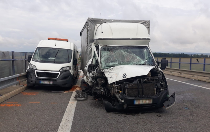 Tragédie u Kunovic, dva mrtví silničáři!