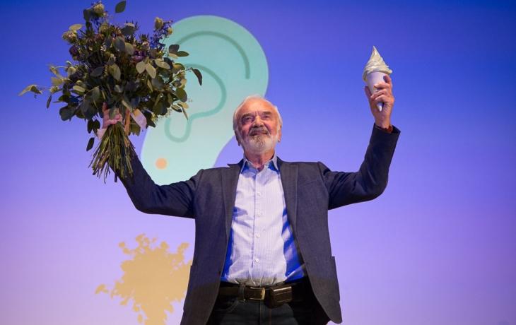 Zdeněk Svěrák převzal zmrzlinovou cenu