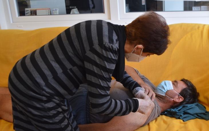 Očkování přilákalo devět bezdomovců