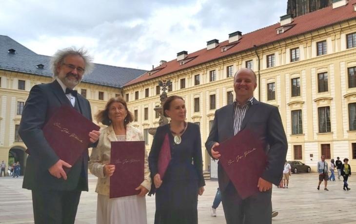 Osobnosti Slovácka převzaly cenu Jože Plečnika