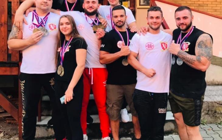 Šampionát v režii pákařů Hluku, urvali 11 titulů