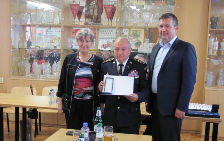 Ministr ocenil dobrovolné hasiče